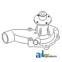 74007551 - Pump, Water w/o Pulley