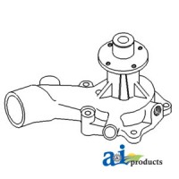 74007666 - Pump, Water w/o Pulley