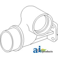 740695M1 - Adapter, Exhaust Outlet