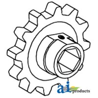 766379 - Sprocket, Feeder Chain (RH/LH)