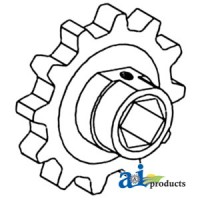 766380 - Sprocket, Feeder Chain (Center)