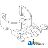 826890M2 - Support, Front Bolster