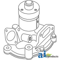 82847745 - Water Pump L/ Pulley