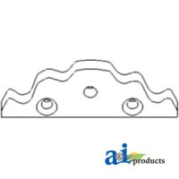 830443 - Plate, Shift Detent - Rivets (Transmission Speed Cover)