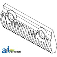 84060998 - Rasp Bar; Lh Rotor, Set Of 3, Trailing