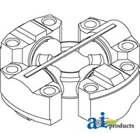 93326C1 - Spider Assembly, Front Axle (MFWD)