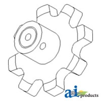 9863030 - Sprocket, Clean/ Return Grain Elevator