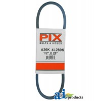 "A26K - Kevlar Blue V-Belt (1/2"" X 28"" )"