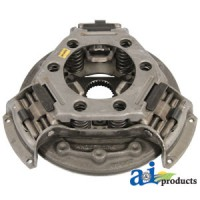 """A39212 - Pressure Plate: 11"""", w/ hub, springs on side of levers"""