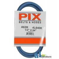 "A62K - Kevlar Blue V-Belt (1/2"" X 64"" )"