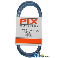 "A75K - Kevlar Blue V-Belt (1/2"" X 77"" )"