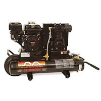 A-AC1-PR06-08M - Air Compressor, Portable Gas; 6.0 HP Subaru OHC