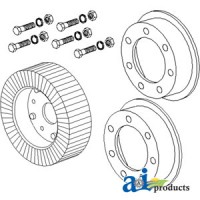 "AC27 - Wheel, 4"" X 8"" Tail Rim Assembly"