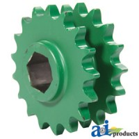AE39301 - Sprocket, Double; Main Drive, 17/17 Tooth