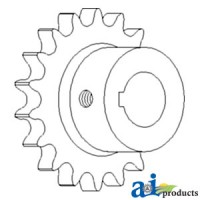 AH121047 - Sprocket Assy, Lower Tailings Auger