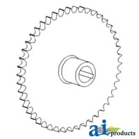AH125080 - Sprocket, Vertical Auger Lower Gear Case