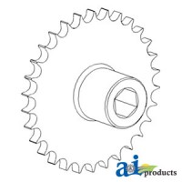 AH130571 - Sprocket Assy, Upper Tailings Elevator