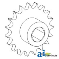 AH130572 - Sprocket Assy, Lower Tailings Auger