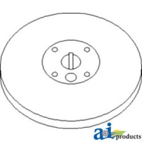 Ah131249 - Pulley, Separator Fan Drive
