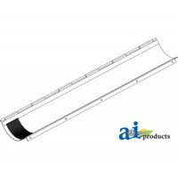 AH139387 - Door; Lower Clean Grain Auger Trough (Perforated)