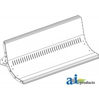 AH143047 - Sheet, Bottom, Straw Chopper Assy