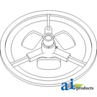 AH146463 - Sheave Assy, Outer Drive, Separator Fan