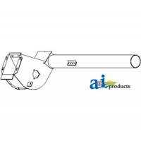 AH149180 - Tube Assy, Upper, Tailings Auger Housing & Paddle Assy.