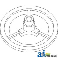 AH153040 - Sheave Assy, Outer Drive, Separator Fan Drive
