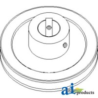 AH155706 - Pulley, Feeder House