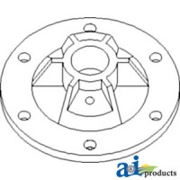 AH155812 - Hub Assembly, Sheave, Unloading Auger Countershaft Dr