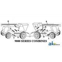 AH169020 - Auger, Shoe Grain Supply (Stainless Steel, LH)