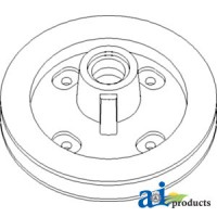 Ah173040 - Pulley, Slip Clutch; Tailing Elevator