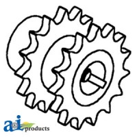 AH92689 - Sprocket, Walker & Shoe Drive