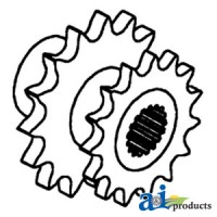 AH93152 - Sprocket, Walker & Shoe Drive