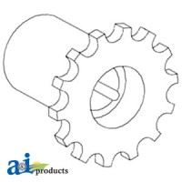 AH96938 - Sprocket, Shaft w/ Reverser, Front (Variable)