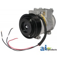 AL155836 - Compressor, New, Denso w/ Clutch