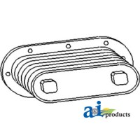 AT25038 - Cooler, Oil w/ Gaskets