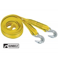 "B1141015 - Pro Grip Tow Strap, 15' X 2"" With Hooks, Polyester"