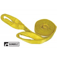 "B1151520 - Pro Grip Tow Strap, 20' X 2"" With Loops, Nylon"