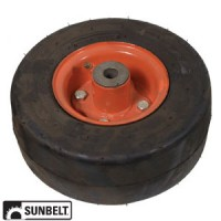 B1FP114 - Wheel Assembly, Flatproof (9 x 3.5 x 4)