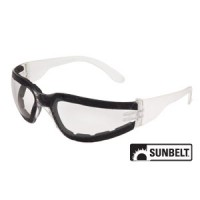 B1SG554 - Safety Glasses, Shield, Full Frame