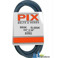 "B65K - Kevlar Blue V-Belt (5/8"" X 68"" )"