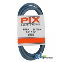 "B69K - Kevlar Blue V-Belt (5/8"" X 72"" )"