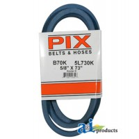 "B70K - Kevlar Blue V-Belt (5/8"" X 73"" )"