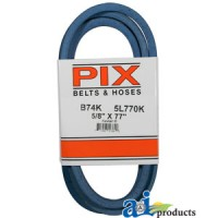 "B74K - Kevlar Blue V-Belt (5/8"" X 77"" )"