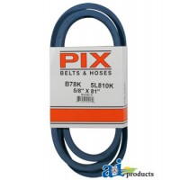 "B78K - Kevlar Blue V-Belt (5/8"" X 81"" )"