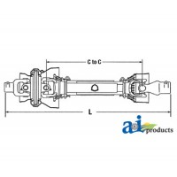 BCL24811 - Complete Constant Velocity Shaft