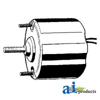 BM333845 - Blower Motor - Condenser (12V, 1/4 X 1 1/2 Shaft, Rev