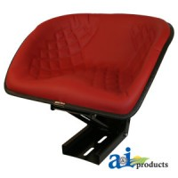 BS100RD - Bucket Style Seat, RED FRAME