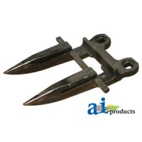 BU215H - Forged Guard, 2 Prong, Dbl Heat Treated